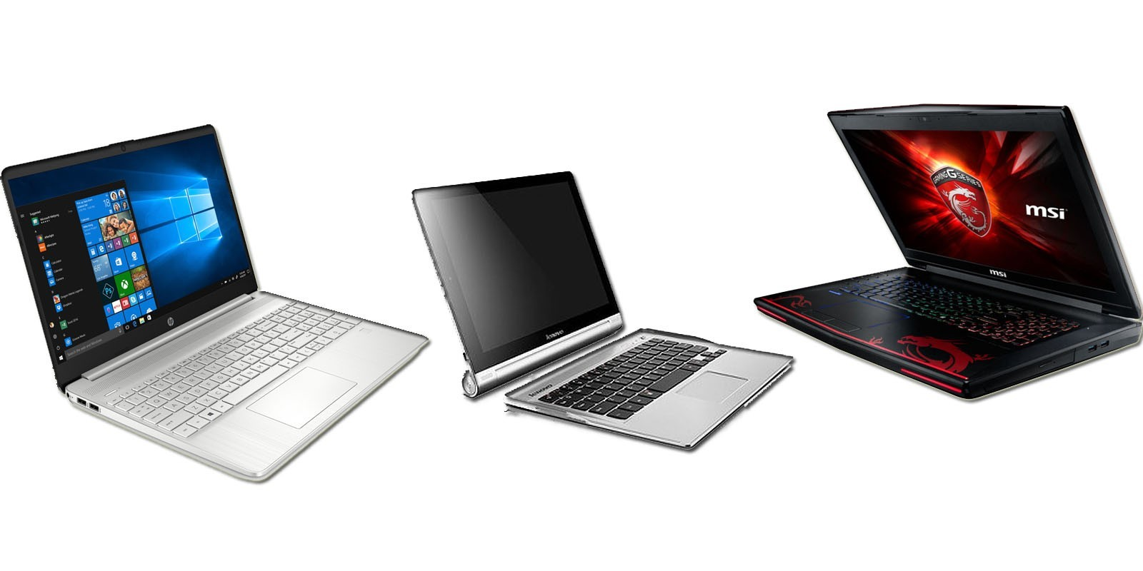Nos modèles d'ordinateurs portable