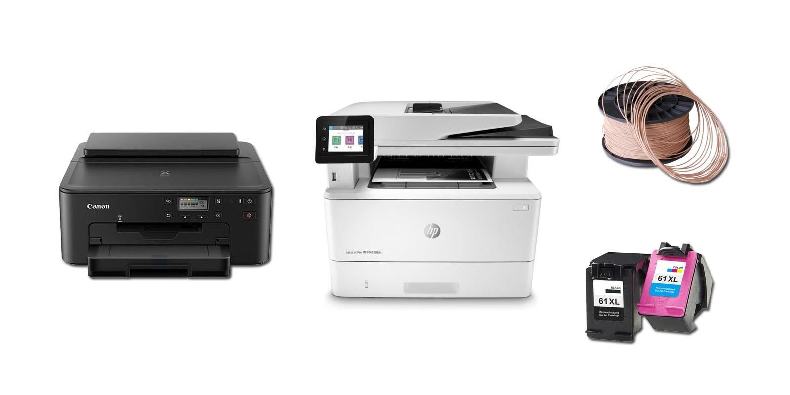 Nos modèles d'imprimantes, consomables et accessoires