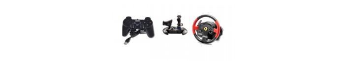 Nos modèles de manettes de jeux, de joystick et de volants