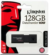 Kingston datatraveler 100 G3  128 Gb